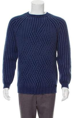 Tod's Rib Knit Wool Sweater