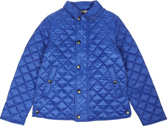 Burberry Luke quilted jacket 4-14 years $210 thestylecure.com