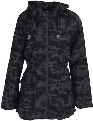 Brave Soul Womens/Ladies Camouflage Zip Up Plus Sized Jacket