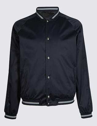 Marks and Spencer Satin Bomber with StormwearTM