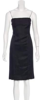 Narciso Rodriguez Silk Knee-Length Dress