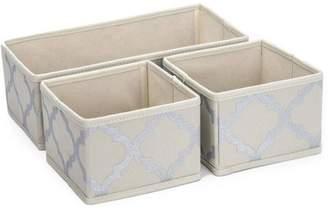 Sorbus Foldable Storage Drawer/Closet/Dresser Organizer Bins for Underwear, Socks, Accessories and More, 3-Piece Set