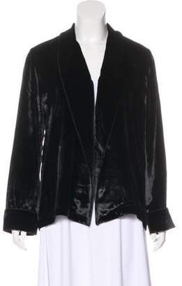 Equipment Velvet Shawl Jacket
