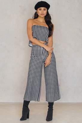 boohoo Cari Gingham Set