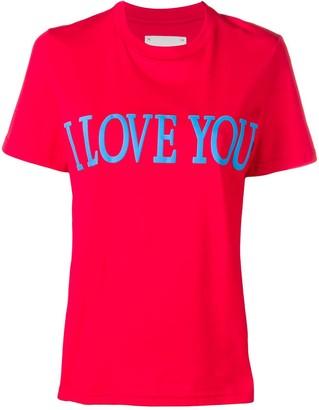 Alberta Ferretti I Love You T-shirt