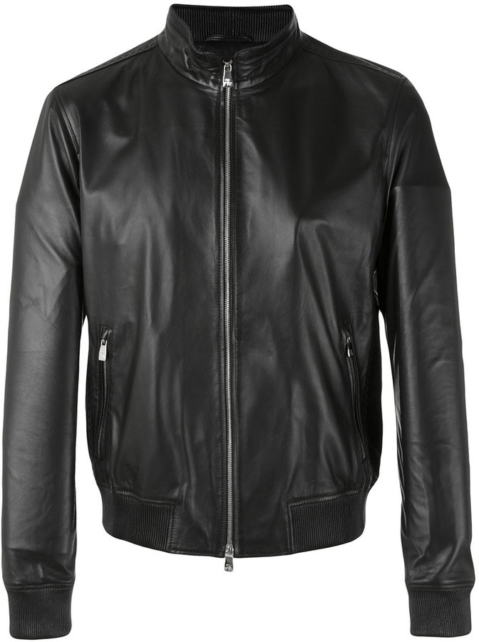 CornelianiCorneliani leather jacket