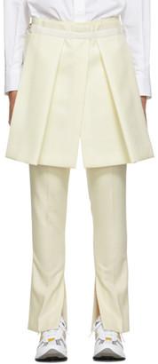Sacai Off-White Panel Trousers