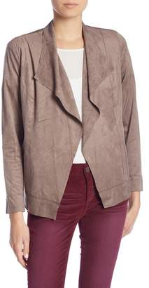 KUT from the Kloth Patricia Faux Suede Drape Jacket