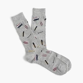 J.Crew Surfboard print socks