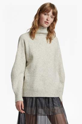 French Connection Urban Flossy High Neck Jumper