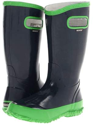 Bogs Glosh Solid Rain Boot Boys Shoes