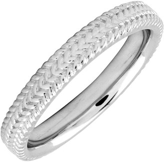 Simply Stacks Sterling 3.25mm Braid Ring