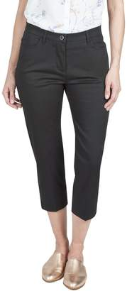 Haggar Classic Fit Side Tape Capri Pant