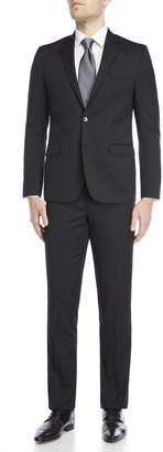 Kenneth Cole Two-Piece Black Travel Suit