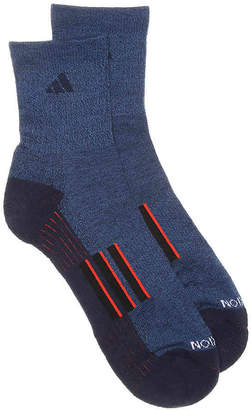 adidas Climalite Traxion Crew Socks - 2 Pack - Men's