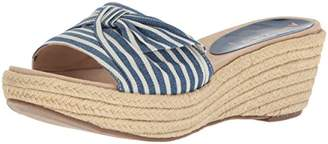 Anne Klein Women's Zandal Wedge Slide Sandal