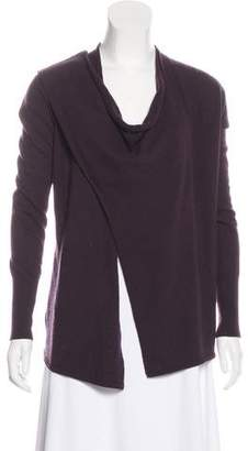 Autumn Cashmere Wool, Long Sleeve Wrap Cardigan