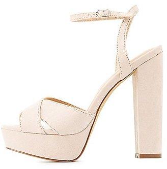 Chunky Platform Sandals $35.99 thestylecure.com
