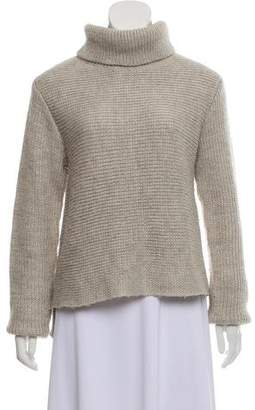Alexander Wang Turtleneck High-Low Sweater