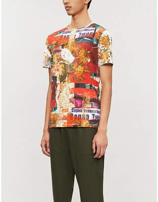 Etro Graphic-print cotton T-shirt