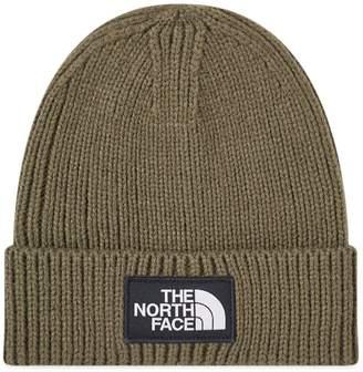 The North Face Logo Box Cuffed Beanie