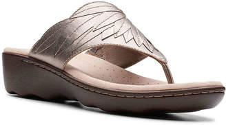 Clarks Phebe Pearl Wedge Sandal - Women's