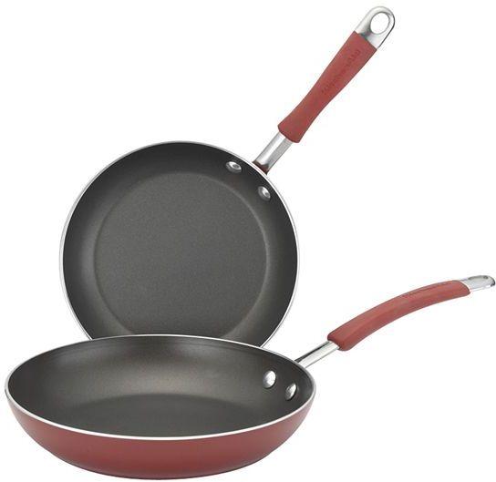 KitchenAid nonstick skillet set