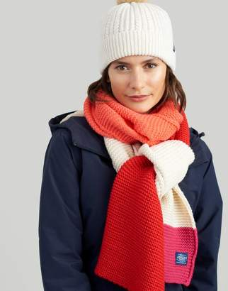 Joules Annis Chunky Knitted Scarf