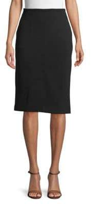 Ellen Tracy Vented Pencil Skirt