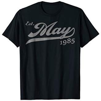 May 1985 34th B-day Gifts 34 Yrs Old Vintage T-Shirt