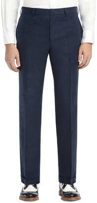 Brooks Brothers LINEN BELT LOOP TROUSERS