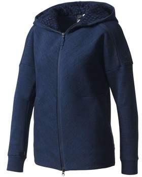 Sweatshirt Z.N.E Roadtr Hood Felpa Zip Donna Blu