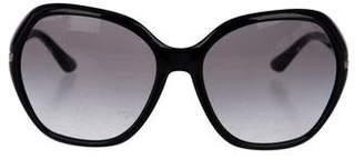 Linda Farrow The Row x Tortiseshell Round Sunglasses