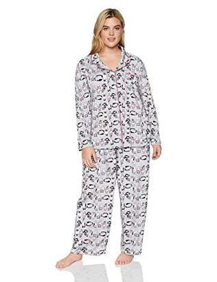 Karen Neuburger Women's Long-Sleeve Girlfriend Pajama Set PJ,S