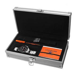 Stuhrling Original Mens Silver Tone Bracelet Watch-Sp15124