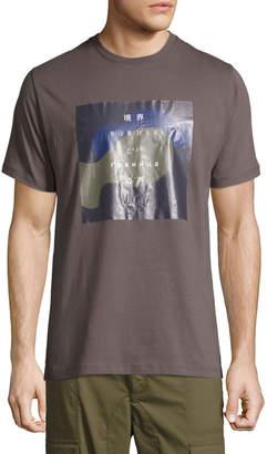 Public School Solomon International Border Cotton T-Shirt