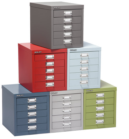 Bisley 5-Drawer Cabinet