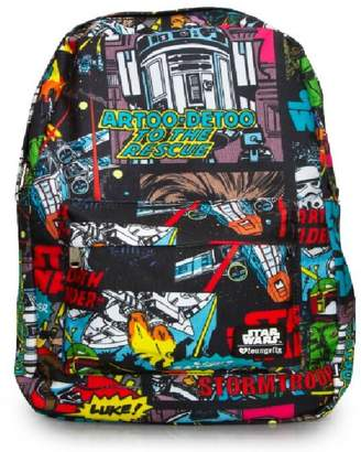 59ddd44a1517 Loungefly Star Wars Comic Book Panel Backpack