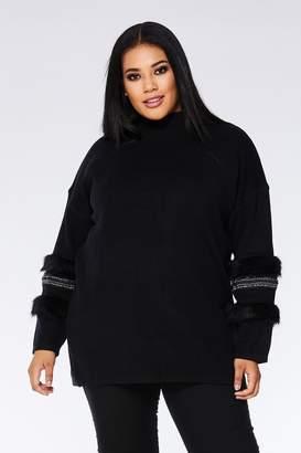 2c511585e73c7 Plus Size Black Jumper - ShopStyle Canada