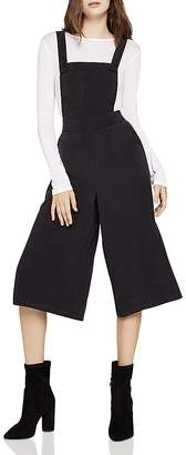 BCBGeneration Cropped Wide-Leg Overalls