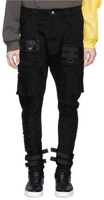 C2H4 'Tactical' strappy cargo pants