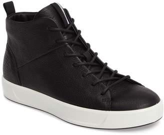 Ecco Soft 8 High Top Sneaker
