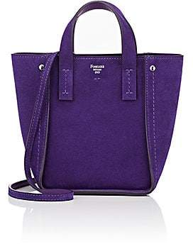 Fontana Milano Women's Tum Tum Toy Tote Bag - Iris (Bt Purple)