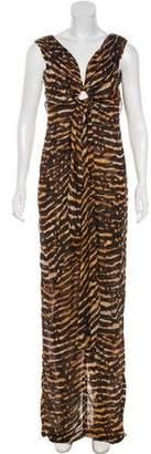 Tom Ford Silk Printed Dress w/ Tags