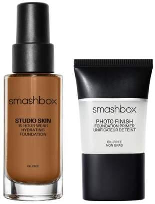 Smashbox Complexion Set Foundation and Primer - Deep Warm Brown