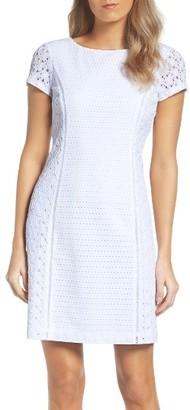 Women's Ellen Tracy Lace Sheath Dress $118 thestylecure.com
