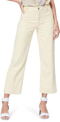 Paige Nellie Clean Front Culotte Jeans