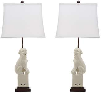 Safavieh Foo Dog Table Lamps (Set of 2)