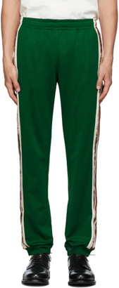 Gucci Green Cotton Lounge Pants