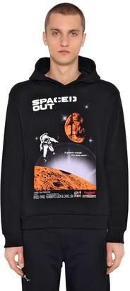 Kenzo Space Printed Cotton Sweatshirt Hoodie